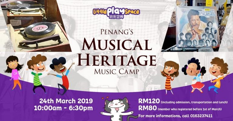 Little Play Space Penang's Musical Heritage Music Camp